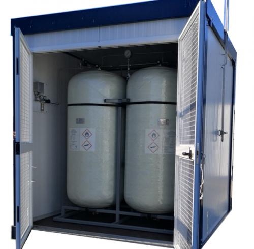 Stockage éléctricité : stockage d'énergie mahytec 2 réservoirs