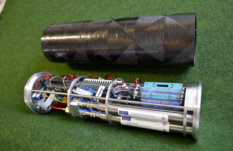 Stockage de l'hydrogène : Caméra-2