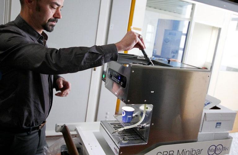 Stockage hydrogene SBB Minibar