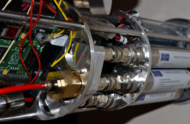 Stockage de l'hydrogène : camera autonome