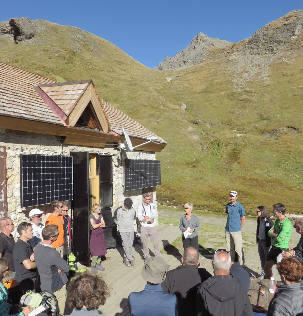 inauguration col du palet