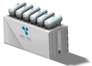 Conteneur énergie hydrogène